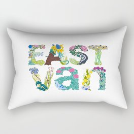 East Van colour Rectangular Pillow