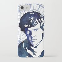 sherlock iPhone & iPod Cases featuring Sherlock by Jackie Sullivan