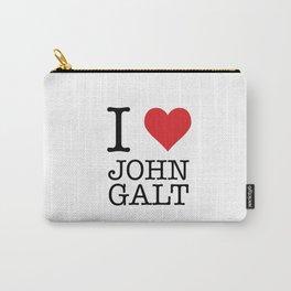 I Heart John Galt Carry-All Pouch