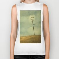olivia joy Biker Tanks featuring The Joy Of Division by Honey Malek