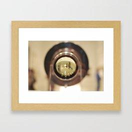 Through HAL's Eye Framed Art Print