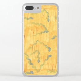 Tadpoles in the sun Clear iPhone Case