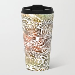 Batik Metal Travel Mug