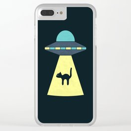 We Just Want The Cat Clear iPhone Case