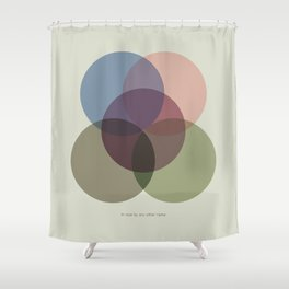 Rose One Shower Curtain