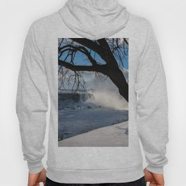 winter in Niagara Hoody