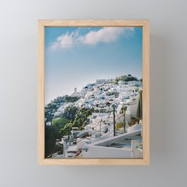 Santorini Views Framed Mini Art Print