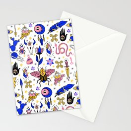 Magic pattern no1 Stationery Cards