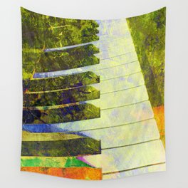 Piano art Wall Tapestry