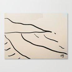 Playa Vasca Canvas Print