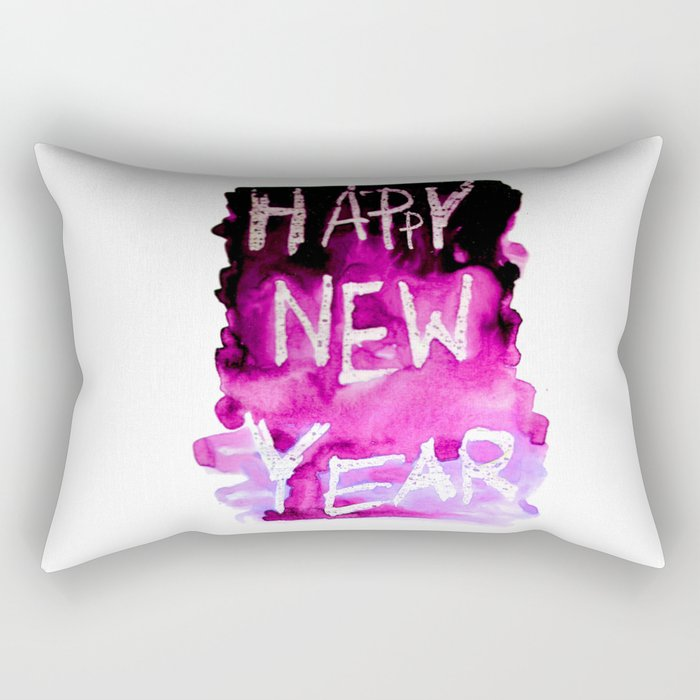 happy new year Rectangular Pillow