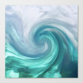 Wave Abstract 1842 Canvas Print