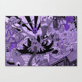 Contemporary Death Jazz Canvas Print