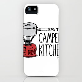 The Camper's Kitchen iPhone Case