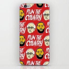 Run The Country iPhone Skin