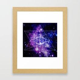 Flower of Life : Sacred Geometry Framed Art Print