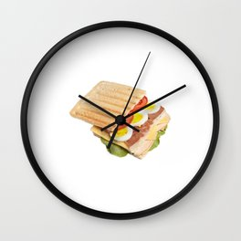 Ham and Eggs Wall Clock