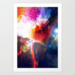 Averted Vision Art Print