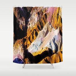 Artist Palette in California's Death Valley National Park. Shower Curtain