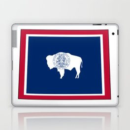 Wyoming Flag Laptop & iPad Skin