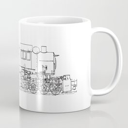 Sketchy train art Coffee Mug