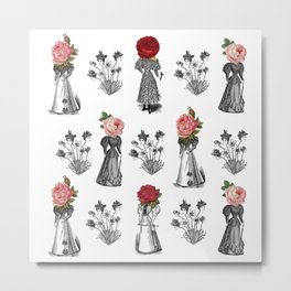 The Dreams of Flowers | The Tables Have Turned Metal Print
