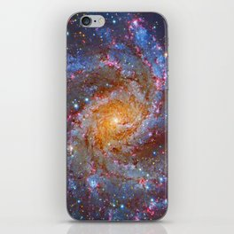 Spiral Galaxy in Outer Space iPhone Skin