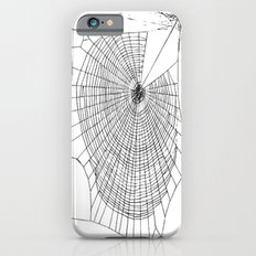 A Large Illustration Of A Spider's Web  Slim Case iPhone 6s