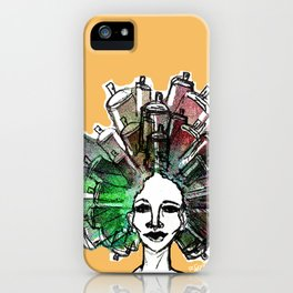 Paint the town iPhone Case