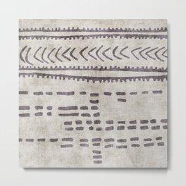 linen jamila Metal Print