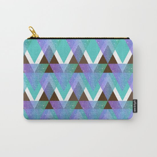 GlitterTriangles Carry-All Pouch