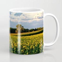 Summer sunflower field Coffee Mug