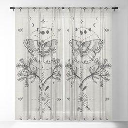 Magical Moth Sheer Curtain