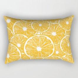 Orange slices pattern design Rectangular Pillow