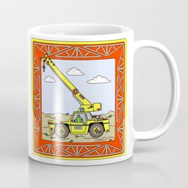 Crane Block Coffee Mug