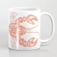 lobster Mugs featuring Lobster by NoelleGobbi