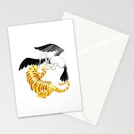 Tiger & Crane Stationery Cards