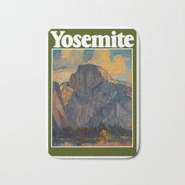 Vintage Yosemite National Park Bath Mat