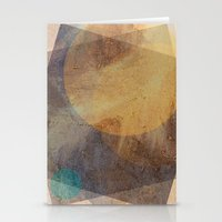 moon phase Stationery Cards featuring It's Just  A Phase by Anai Greog