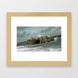 Dark Bridge Framed Art Print