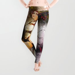 Aircraft Girl Leggings