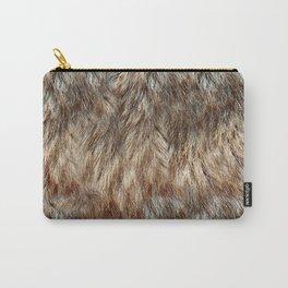 Alaska Faux Fur Carry-All Pouch