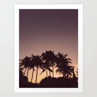 florida Art Prints featuring Florida by Whitney Retter