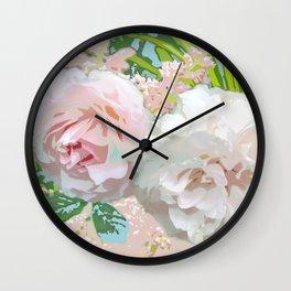 Jardin de Marie Wall Clock