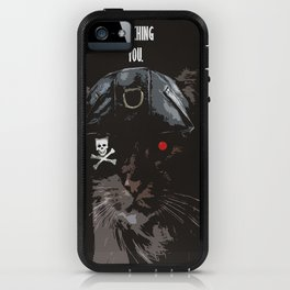 The Furminator is always watching iPhone Case