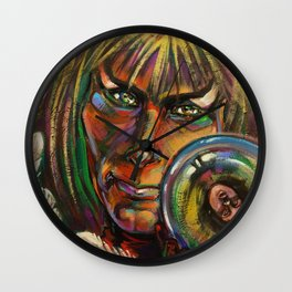 Lonely One Wall Clock