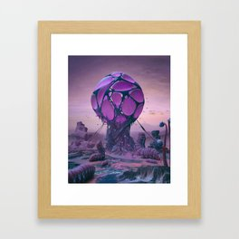 PROSAIC ABSORPTION (EVERYDAY 11.25.18) Framed Art Print