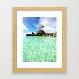 Boracay Bliss Framed Art Print