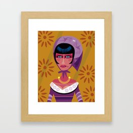 Actress in Constantinople Framed Art Print