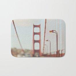 Golden Gate Bridge. A Memory San Francisco Bath Mat